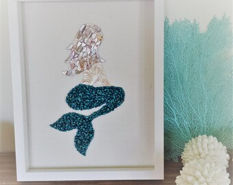 Coastal Decor, Beach Decor, Mermaid Decor, Mermaid Wall Art, Mermaid Wall Decor, Beach Wall Art, Beach Wall Decor, Coastal Decor