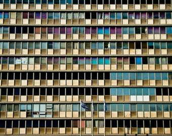Israel Photography - City Hall - Tel Aviv - Israel - Fine Art Photograph - Wall Art