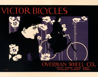 Victor Bicycles Poster (#0400) 6 sizes