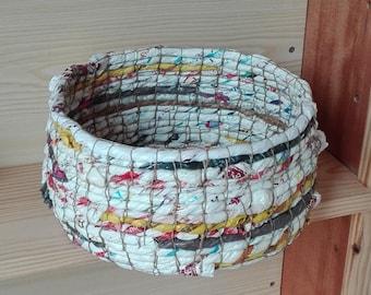 Basket, basket, organizer, woven paper