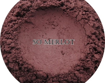Loose Mineral Eyeshadow-So Merlot