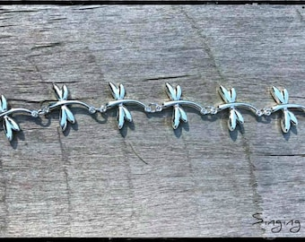Dragonfly Bracelet, Dragonfly, Reiki Healing, Dragonfly Jewelry, Dragonfly lover,