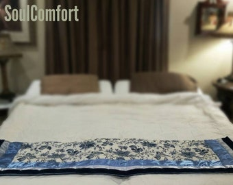 Weighted Blanket  for Your Majesty 4 Designs Calming Weighted  blankets 40 x 67 Anxiety, restless leg - Premium Weighted Blanket