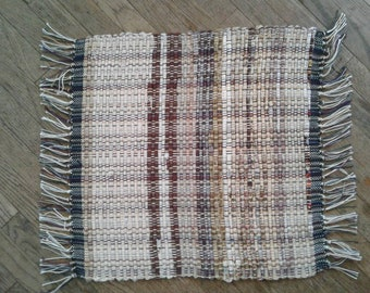 Brown hand woven placemats