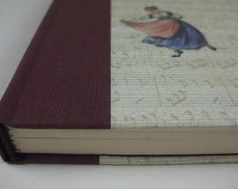 Vintage Handbound Journal Diary Notebook Retro Paper