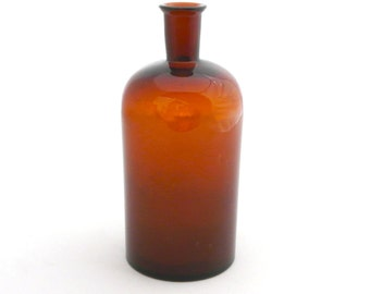 Large Vintage Apothecary Bottle