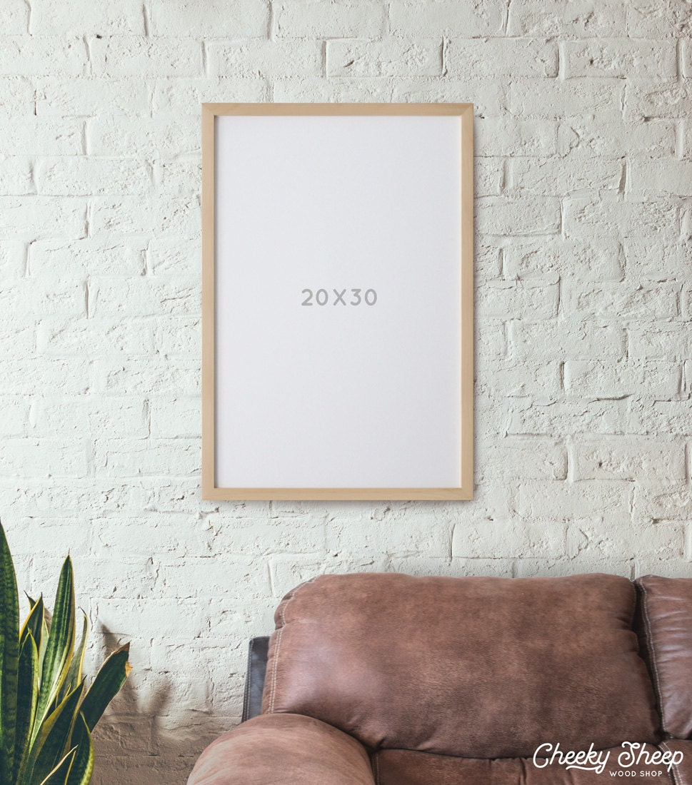 Fotograma de póster 20 x 30 marcos sin vidrio Natural