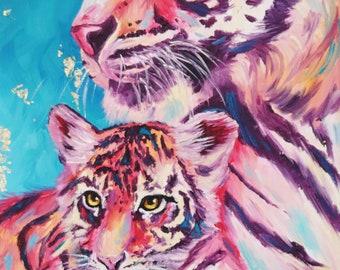 Tiger Cub 11x17 poster print