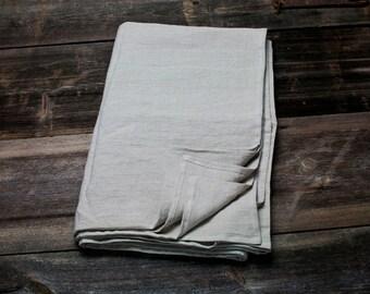 LINNEN platte blad - natuurlijke vlakke blad - koningin linnen blad - bovenste linnen blad--linnen lakens - klaar om te verzenden