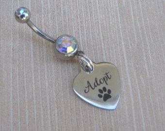 Adopt Belly Button Ring