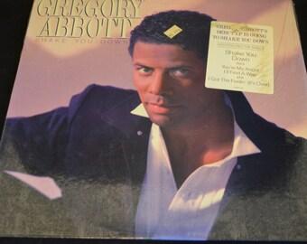Vintage Vinyl Record Gregory Abbott: Shake You Down Album AL-40437