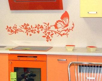 Wall Sticker Butterfly (050n)