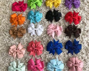 Pinwheel Hairbows