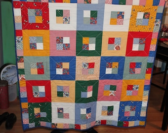 Lazy Dayz of Summer- Handmade quilt