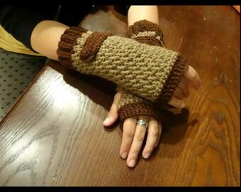 Dreamers fingerless gloves
