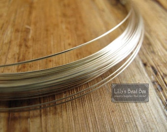 24 Gauge Wire, Silver FILLED Wire, Four (4) Feet, 48 Inches of Round, Half Hard Wire for Wire Wrapping Gemstones, Beads and Jewelry