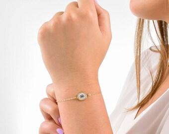 Quartz Bracelet, Raw Quartz Bracelet, Solar Quartz Slice, Solar Quartz Bracelet, Natural Quartz Bracelet, Gold Quartz Bracelet, Stalactite