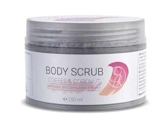 Natural Body Scrub Coffee Scrub Salt Scrub Body Exfoliant Coconut Oil Almond Oil Avocado Oil Organic Skincare