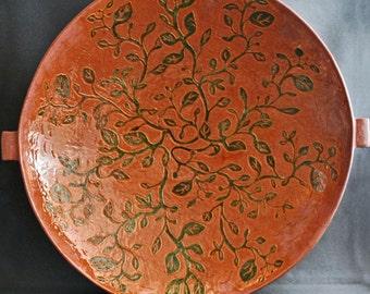 Syncopation- Large ceramic bowl, stoneware bowl, large pottery bowl, handmade serving bowl, home decor, gift idea, wedding, house warming