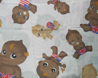 Babies cotton fabric,babies in diapers on cotton fabric,babies everywhere on cotton fabric,babies, cotton fabric,usa diapers,Britishdiapers,