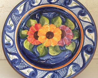 Hand painted Portuguese plate