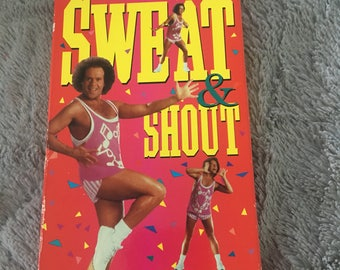 Richard Simmons Sweat and Shout VHS