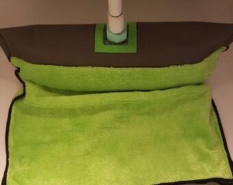 Green EasyMop,  Eco friendly Microfiber, Reusable, Stain Resistan, Super Absorbent  Mop