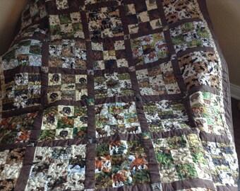North woods quilt #157