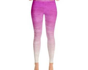 TEQUILA SUNRISE OMBRE Yoga Leggings