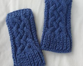 Handknit mittens