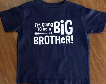 Big Brother Shirt, I'm going to be a big brother, Big Brother shirt, Personalized Big Sister Shirt, Big Sister Shirt, New Brother Shirt