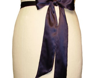Sash Belt For Skirts Tie Belt Satin Sashes Chiffon Sash Belt Matching Sash Belt Belt for Skirts Sash by breauxsews