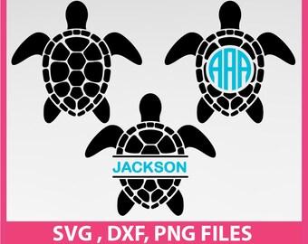 Sea Turtles svg, Ocean svg, DXF, PNG Formats 0030