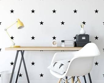 Star Wall Decals- Star Wall Stickers, Nursery Wall Decal, Kids Room