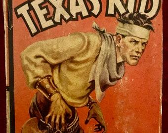 1937 Big Little Book-The TEXAS KID-by Stephen Slesinger-USA
