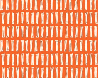 170202 Orange Sticks Notepad by Another Point of View Collection In Geometric