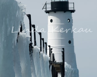 Winter at the Manistee Lighthouse