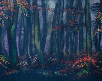 Autumn Forest. Strings of Autumn