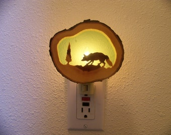 Red Fox nightlight