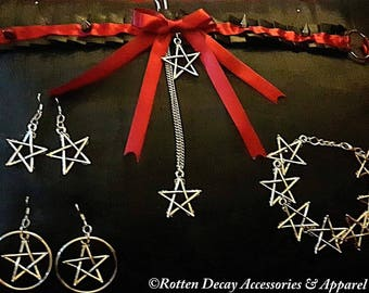 Red Wiccan/Goth Set