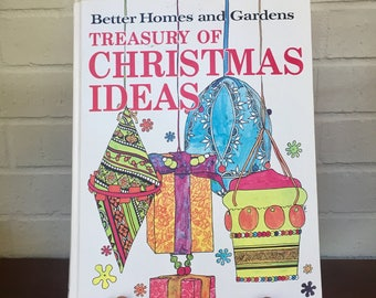 Vintage Better Homes and Gardens Christmas Book 1966