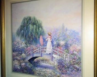 Home Interior Woman on a Bridge  Sambataro
