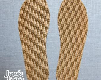 Slipper soles - many types in Joe's Toes store! UK size rubber soles ideal Sandal soles, Shoe soles, Slipper soles