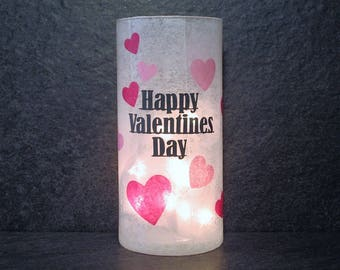 Happy Valentines Day Light, Valentine's Day Decor