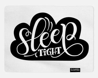 Swaddle - Sleep tight cloud baby swaddle - Organic cotton & fleece baby swaddle