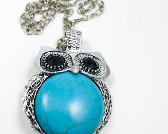 Owl Essential Oil Necklace - Diffuser