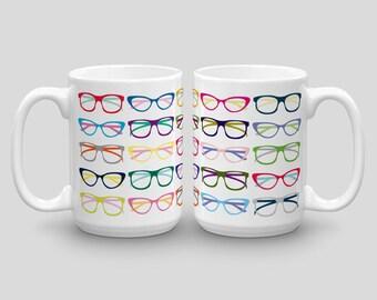 Verres Chope, Hipster Mug, Mug Geek, Nerd Mug, une tasse de café pour elle, une tasse de café drôle pour lui, joli Mug, tasse de courses, tasses à café Unique