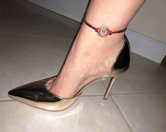Designer Inspired Remix Ankle Bracelet