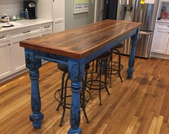 Farmhouse Table made from reclaimed wood
