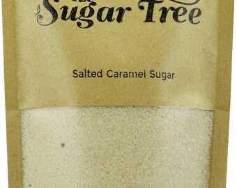 Salted Caramel Sugar - Naturally Flavoured Salted Caramel Sugar - Flavoured Sugar - Gourmet Sugar - Artisan Sugar